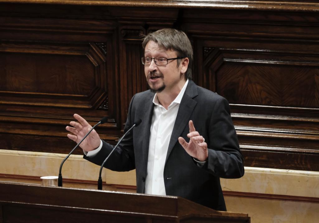 El ex dirigente de Catalunya en Comú y Podem Catalunya, Xavier Domènech.