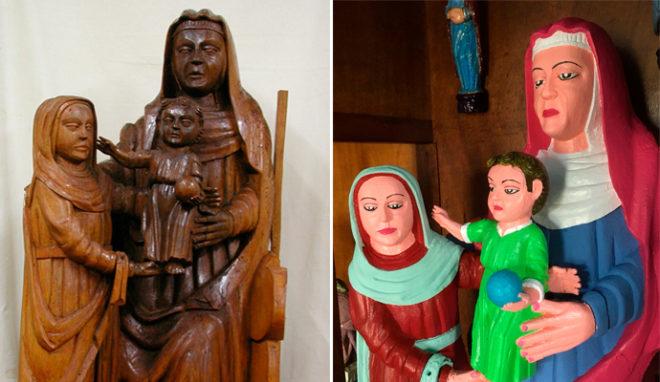 Así lucen ahora las figuras de los siglos XV y XVI tras su...