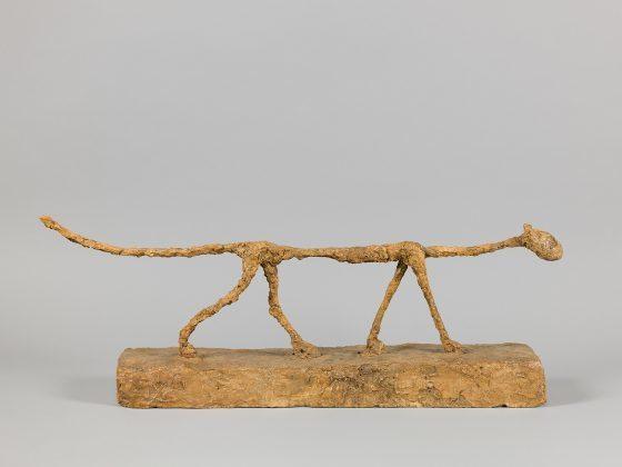 El gato, obra de Giacometti de 1951.