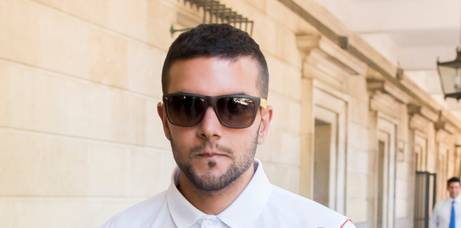 El miembro de la Manada , Ángel Boza acusado de robo