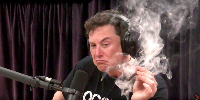 Elon Musk, CEO de Tesla, durante un momento de la entrevista