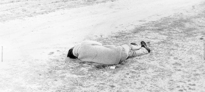 Así fue hallado, en un descampado de San Martín de Valdeiglesias (Madrid), el cuerpo sin vida de Yolanda González. Fue asesinada la noche anterior, el 1 de febrero de 1980.