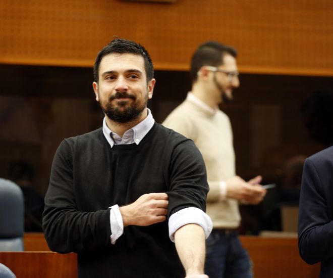 Ramón Espinar, secretario General de Podemos de la Comunidad de Madrid.