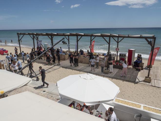 'MasterChef', en la playa de Tarragona.