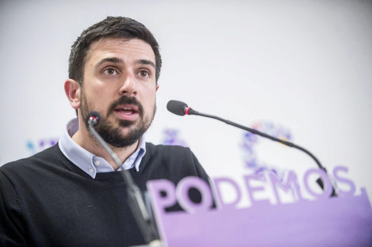 Ramón Espinar (32) confirmó que será padre. Un día después de que...