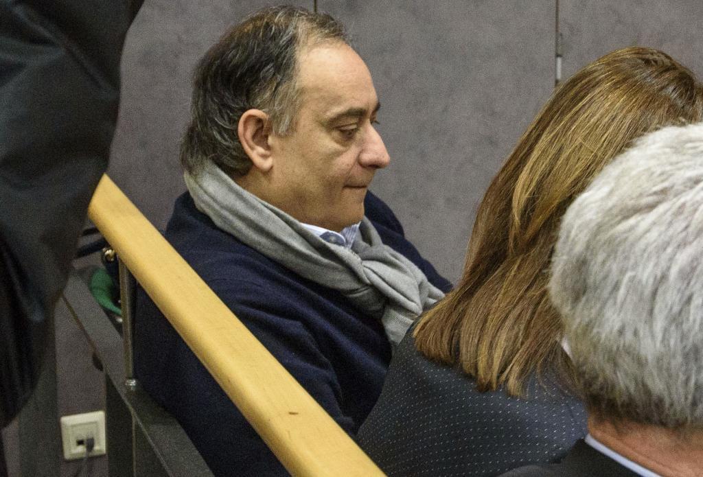 José Carlos Margüello en el banquillo de los acusados.