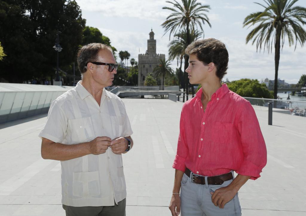 Pepe Luis y su sobrino Manolo Vázquez
