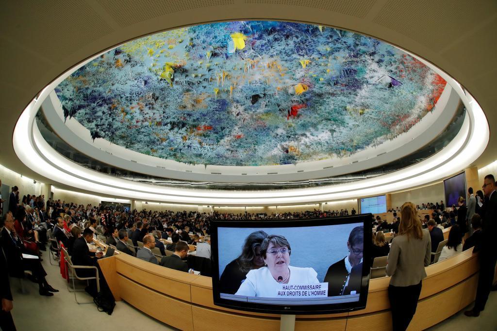 Michel Bachelet fustiga a Nicolás Maduro en su debut en la ONU