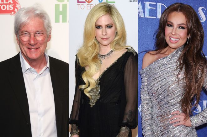 Richard Gere, Avril Lavigne y Thalía, tres de los famosos que han padecido Lyme.