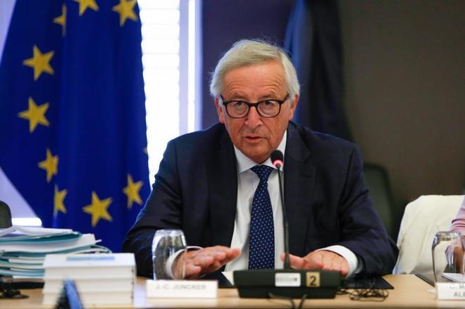 El presidente de la Comisión Europea, Jean Claude Juncker.