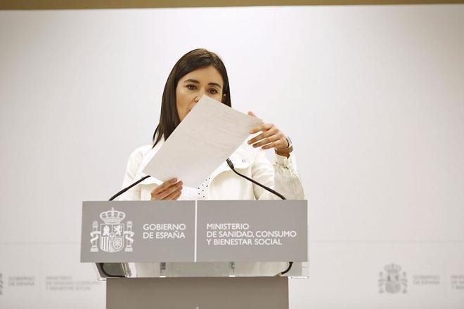 La ministra Carmen Montón.