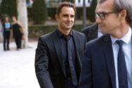 El ex empleado del banco HSBC Hervé Falciani, hoy en la Audiencia Nacional, en Madrid.