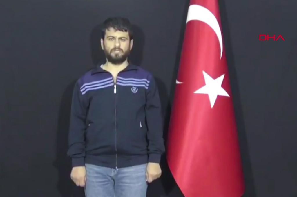 Fotograma en el que aparece Yusuf Nazik, sospechoso del atentado de Reyhanli.