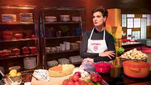 Antonia Dell'Atte, en MasterChef Celebrity 3.