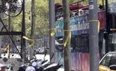 Lazos amarillos en el Paseo de Gracia el día después de la Diada.