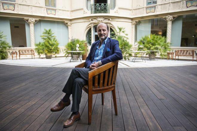El presidente de la Sociedad General de Autores y Editores (SGAE), José Miguel Fernández Sastrón.
