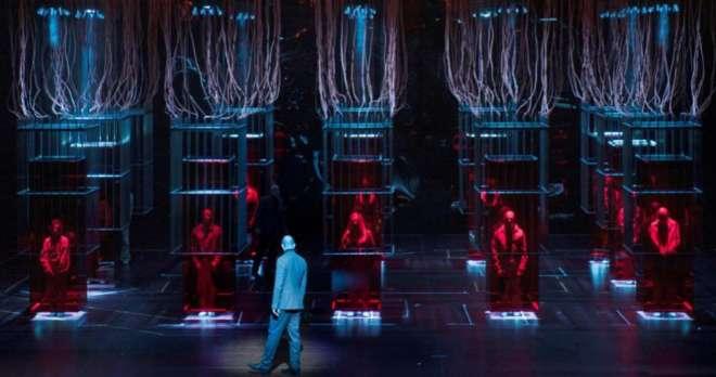 Fotografía de un ensayo de 'Faust', de Charles Gounod, la ópera que inaugurará la temporada 2018-2019 del Teatro Real.