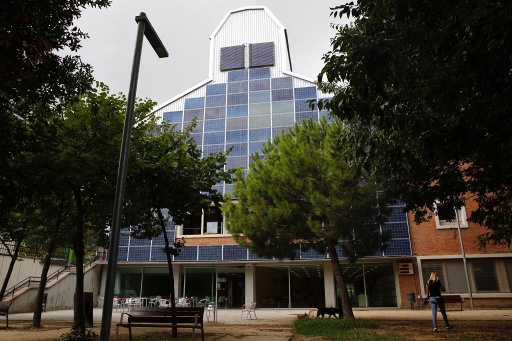 Fachada de El Graner en las instalaciones de la antigua fábrica Philips.