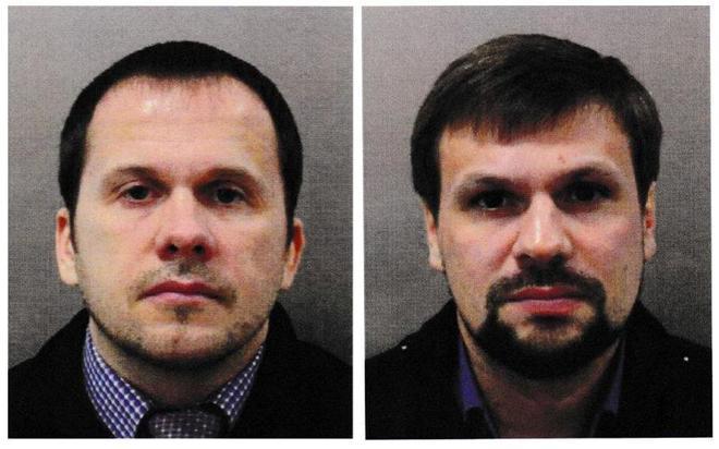 Alexander Petrov y Ruslan Boshirov, acusados formalmente de intentar...