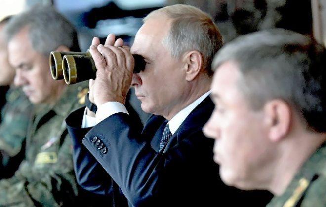 Vladimir Putin, gendarme de Eurasia