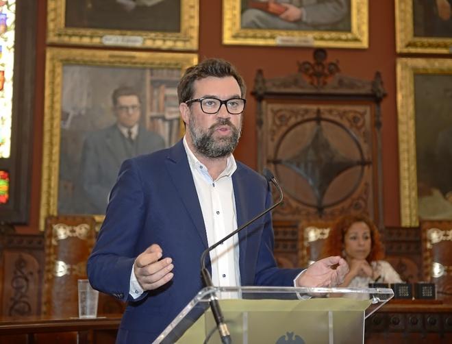 El alcalde de Palma y dirigente de Més, Antoni Noguera, contra el que se dirige la denuncia del PP.