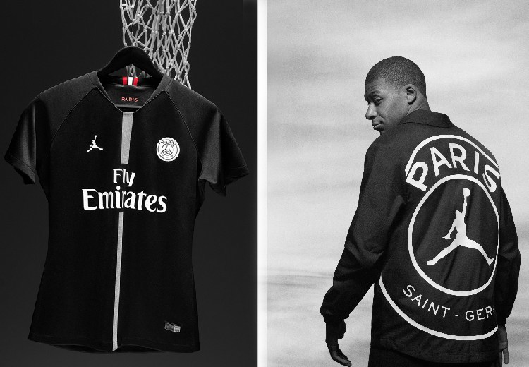 Las indumentarias  Jordan  del PSG son de color blanco y negro con toques  en rojo y se utilizarán como las equipaciones tercera y cuarta. 1d2aa53e289