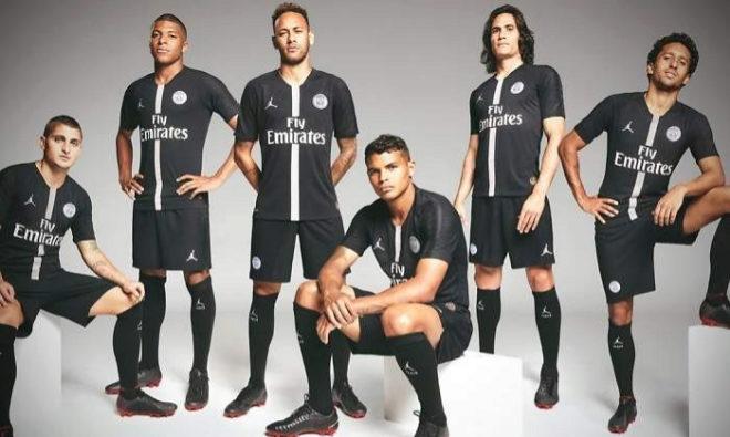 PSG y Air Jordan  así es la nueva equipación de los franceses para ... 88c33132f09