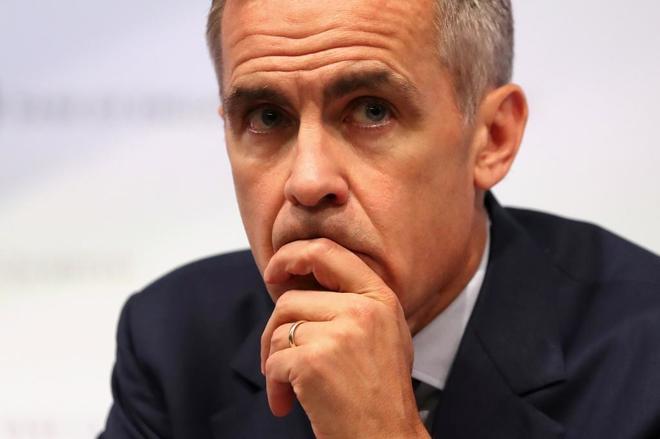 El Banco de Inglaterra dice que un Brexit sin acuerdo hundirá hasta un 35% el precio de la vivienda