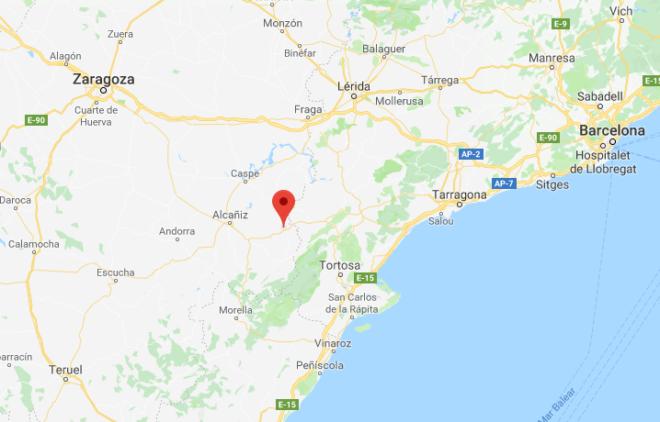 Un hombre armado atraca una sucursal bancaria en Teruel  y huye en bicicleta