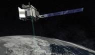 Recreación artística del satélite espacial ICESat-2.