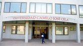 Fachada de la biblioteca de la Universidad Camilo José Cela. ubicada...