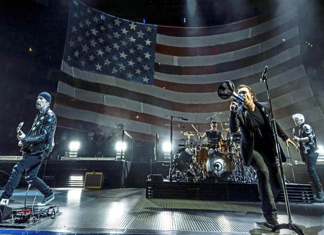 U2 en misión especial para salvar el mundo