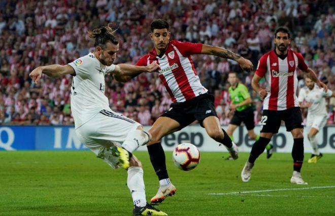 Bale remata en una ocasión del Real Madrid en San Mamés. VINCENT WESTREUTERS 2f508364fecf4