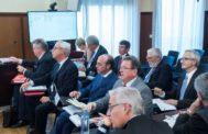 Varios de los peritos de la Intervención del Estado y los propuestos por varios ex altos cargos enjuiciados, durante el juicio.