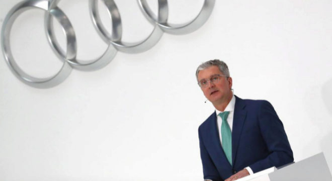 Audi decide el lunes el futuro de su ex presidente