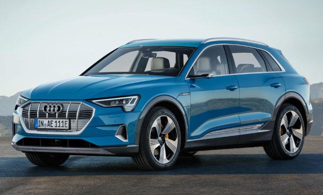 Audi presenta el e-tron, su primer eléctrico, en California, el cuartel general de Tesla