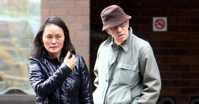 Soon Yi y Woody Allen, en una foto reciente.
