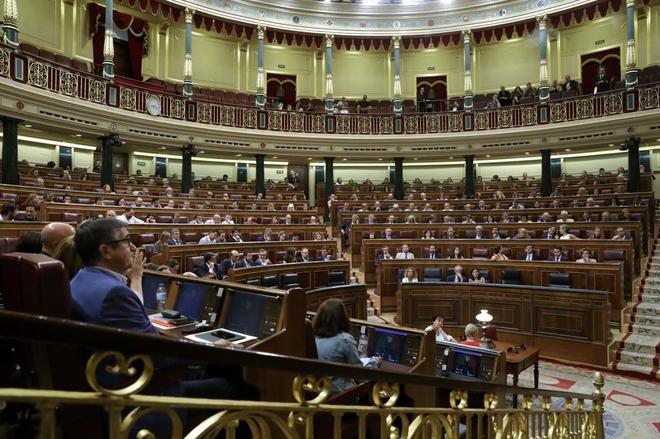 El Congreso de los Diputados, reunido en pleno el pasado 6 de...