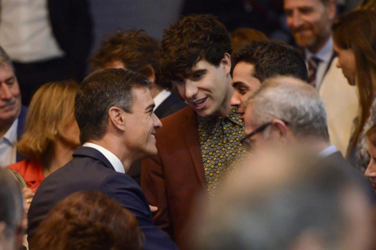 El presidente del Gobierno, Pedro Sánchez, preside el acto...