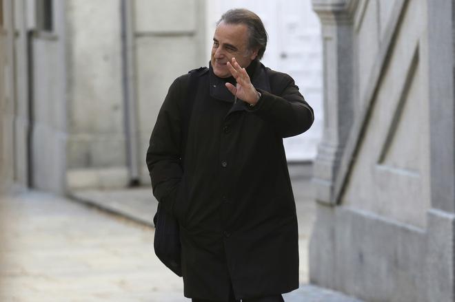 El abogado de Cristinta de Borbón, Pau Molins, acude al Tribunal Supremo.