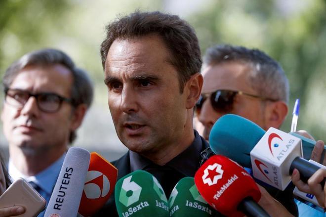 Hervé Falciani, a su llegada a la Audiencia Nacional el pasado día 11.