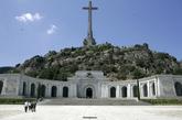 Fachada del Valle de los Caídos.
