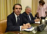 El ex presidente del Gobierno José María Aznar comparece en la...