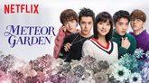 Protagonistas de la serie Meteor Garden en una imagen promocional de...