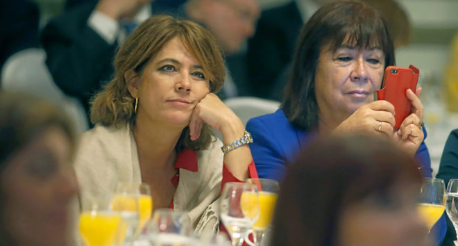 """La ministra Dolores Delgado admite ahora que se vio con Villarejo en """"algún evento"""""""