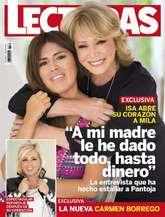 La entrevista que lleva en portada la revista 'Lecturas', la que le...