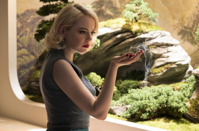 Emma Stone, en la serie 'Maniac'.