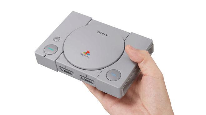 PlayStation Classic es una versión 'mini' y con 20 juegos de la mítica consola de Sony