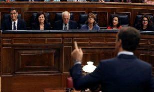 """Casado a Sánchez en el Congreso: """"Convoque elecciones cuanto antes"""""""