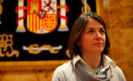 La alcaldesa de Torrelodones, Elena Biurrun.